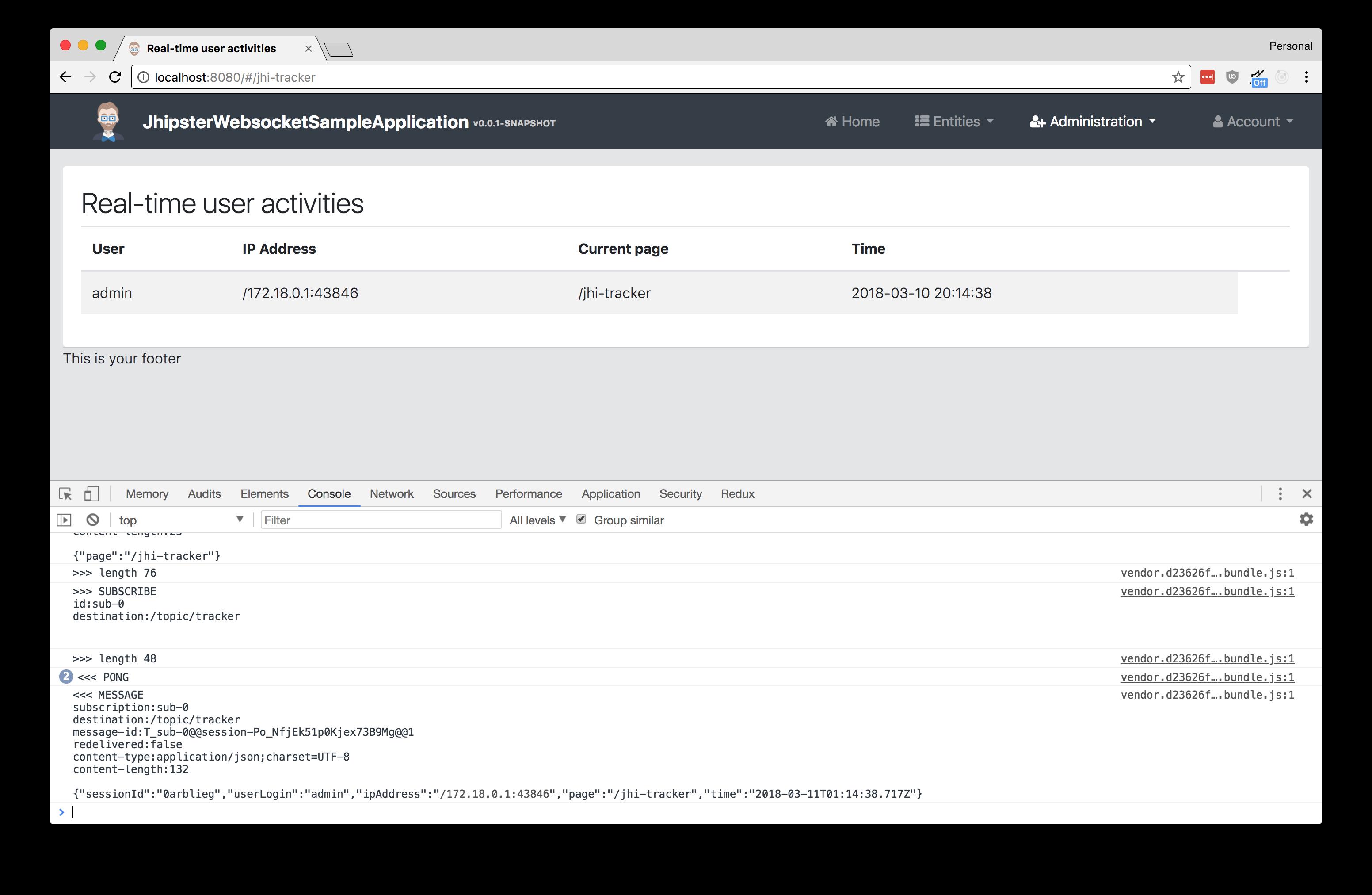 Advanced JHipster WebSockets   Jon Ruddell's Blog